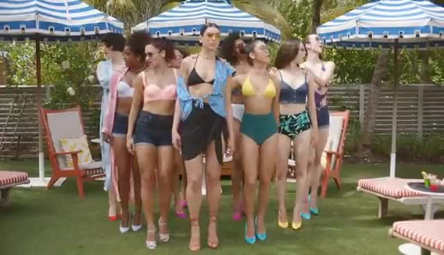 Dua Lipa - New Rules (Official Music Video) GIFs