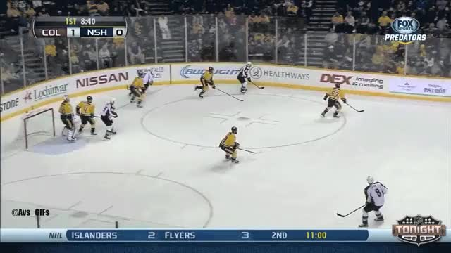 Watch and share Jan Hejda Slap Shot, 2-0 COL GIFs on Gfycat