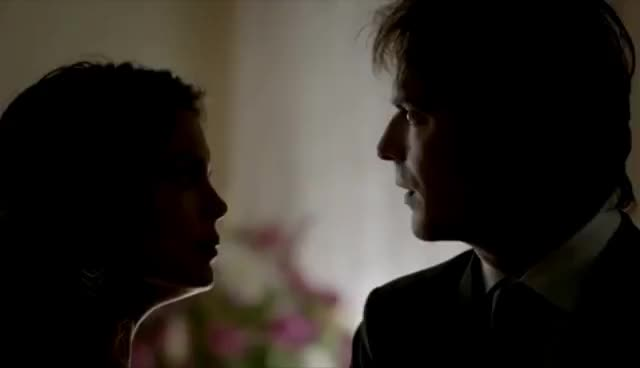 The Originals, The Vampire Diaries, The Vampire Diaries Damon Hits Sybil With Stryker GIFs