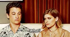 Watch this kate mara GIF on Gfycat. Discover more *, but i had to, fantastic four, fantastic four cast, fymilesteller, i know this is old, i really laugh with this interview, kate mara, katemarasource, kmaraedit, marvel cast, marveledit, miles teller, mine, mt*, mtelleredit GIFs on Gfycat