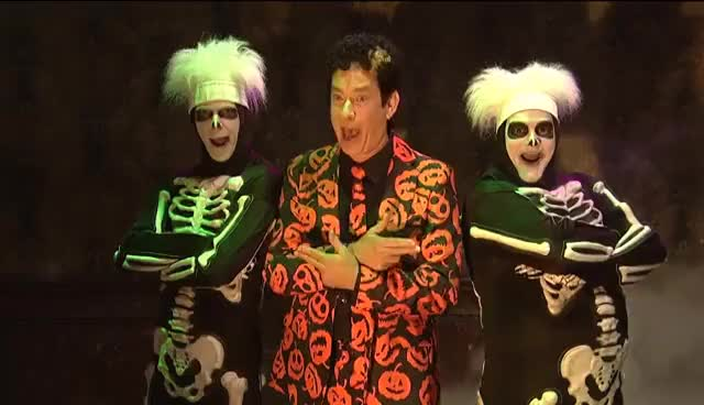 Watch and share Haunted Elevator (ft. David S. Pumpkins) - SNL GIFs on Gfycat