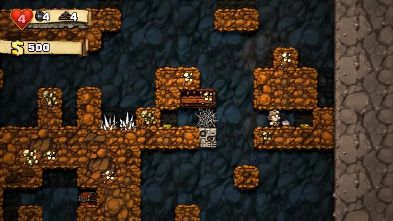 game, gameplay, games, gamespot.com, gaming, jeux, juego, juegos, spelunky, videogame, Spelunky Official Trailer GIFs