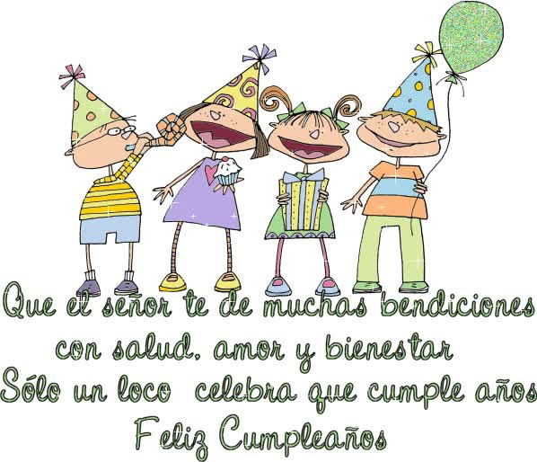 Watch and share Feliz Cumpleaños Amor: Muchas Bendiciones 1 animated stickers on Gfycat