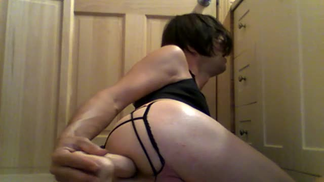 I stayed up all night while my hot girlfriend lay naked in our bed showing what a good girl I can be for dominant men. All I think about it being totally dominated and humiliated. Pussy totally grosses me out no sex with her in years. I stay limp, tucked, shaved smooth 24 7.