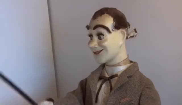 Watch The Mechanical Salesman - A Rare Automaton GIF on Gfycat. Discover more related GIFs on Gfycat