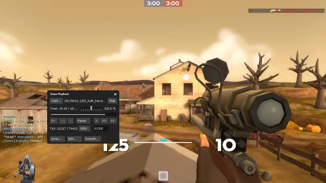 Watch and share Headshot GIFs and Sniper GIFs by oceiltf2 on Gfycat