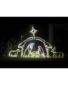 Watch and share Lighted LED Outdoor Christmas Displays GIFs by Lori's Lighted D'Lites on Gfycat