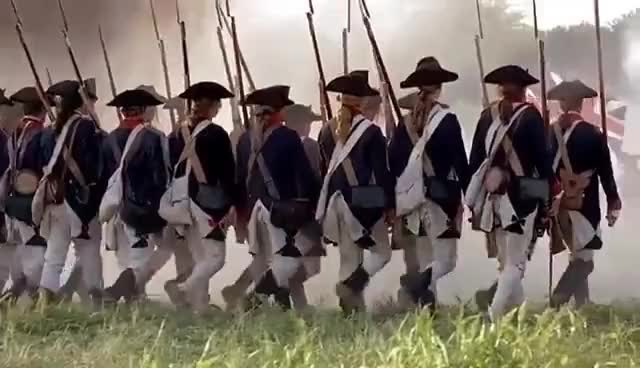 Watch and share The British Grenadiers Song (Redcoats From The Patriot) GIFs on Gfycat
