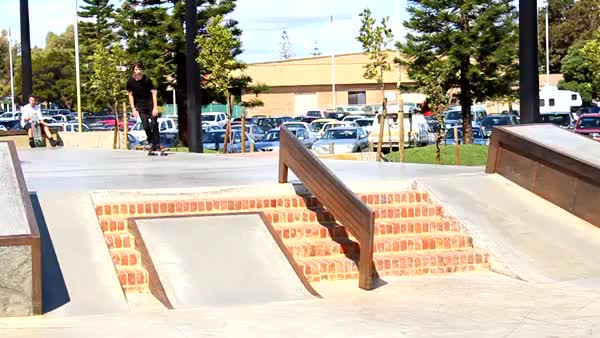 Watch and share Nollie Inward Heel With Hippy Bro GIFs on Gfycat