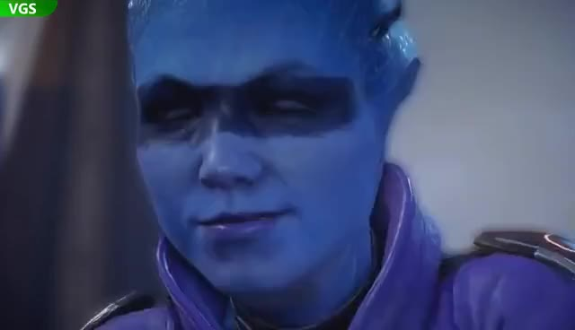 Watch and share Mass Effect Andromeda: Meeting Peebee GIFs on Gfycat