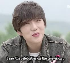 Watch Seungyoon being a little shit. GIF on Gfycat. Discover more high kick 3, kang seungyoon, mygif, seungyoon, this show is my life GIFs on Gfycat