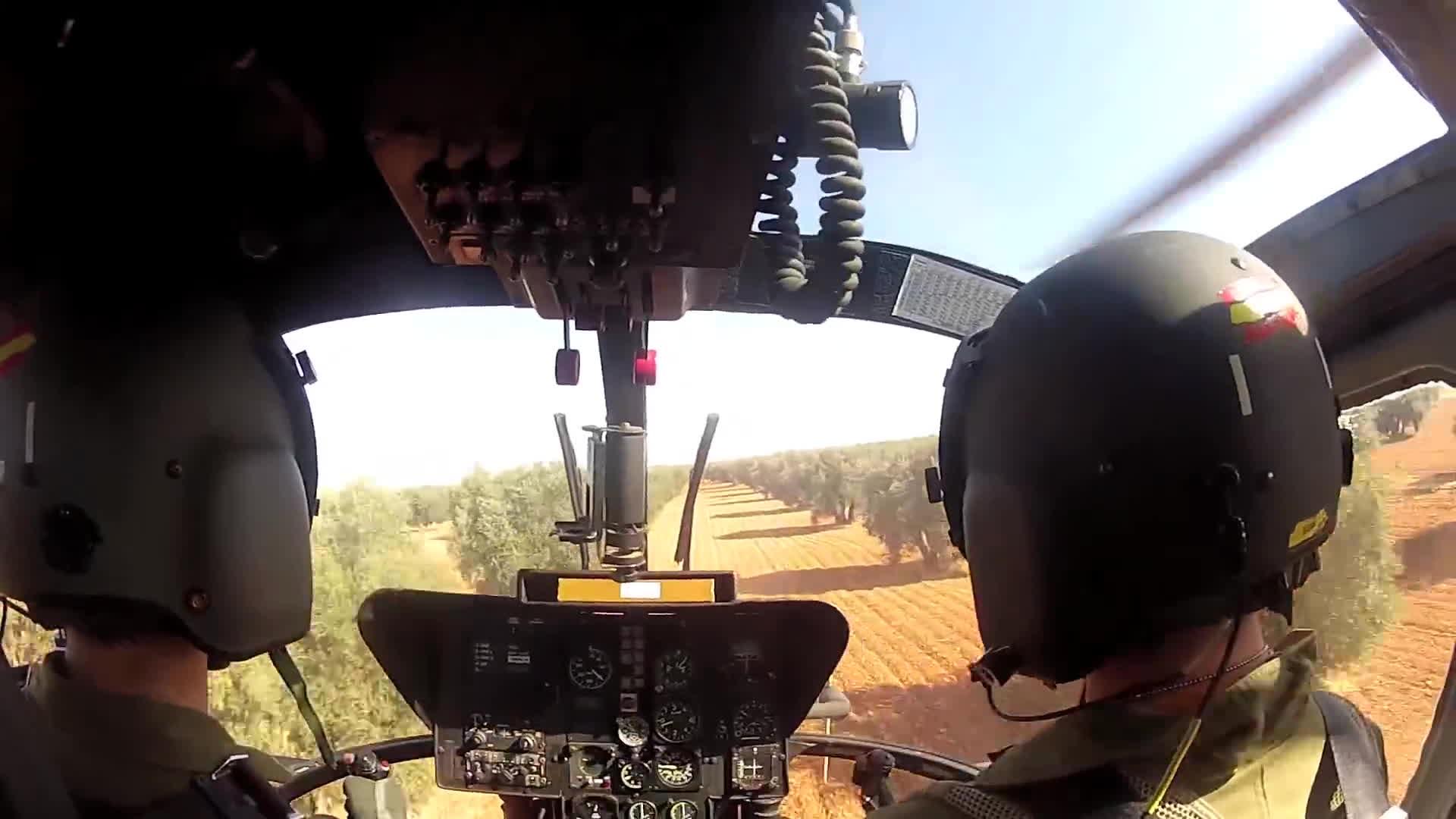 attack, bo105, tank, Bo-105 Simulated Tank Attack GIFs