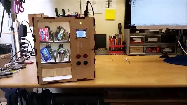 Watch Venduino, Arduino Vending Machine GIF by @kens9261004 on Gfycat. Discover more arduino, atmel, uno GIFs on Gfycat