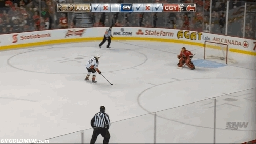 calgaryflames, hawwkey, hockey, Everybody do the Hiller Hop! (reddit) GIFs