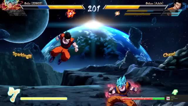 Watch and share Dragonball Fighterz GIFs and Fighting Games GIFs by sirbubblekitten on Gfycat