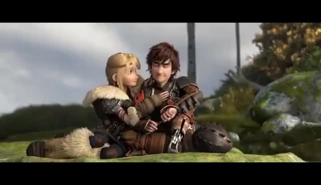Watch Hiccup and astrid GIF on Gfycat. Discover more How to train your dragon GIFs on Gfycat