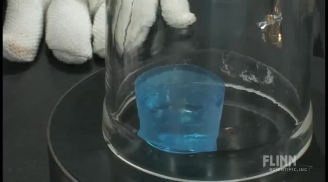 Watch Nitrogen at low temperatures in a vacuum oscillates between liquid and solid (reddit) GIF on Gfycat. Discover more educationalgifs GIFs on Gfycat