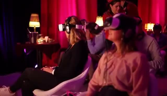 virtual reality, vr, Europe's first Virtual Reality cinema GIFs