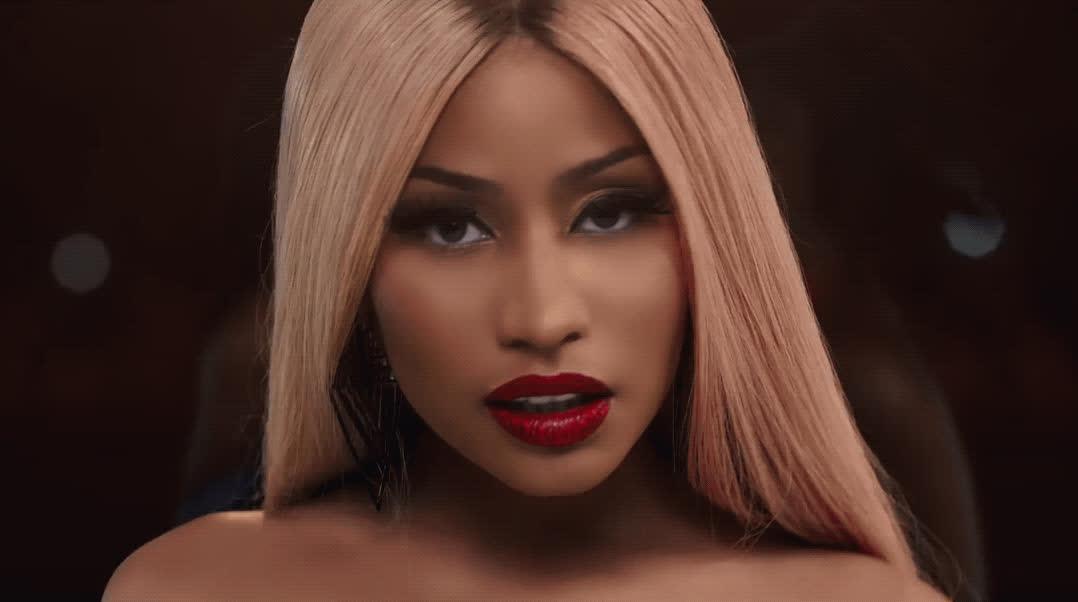 Nicki Minaj, flirt, swish swish, wink, Nicki Minaj - Swish Swish GIFs