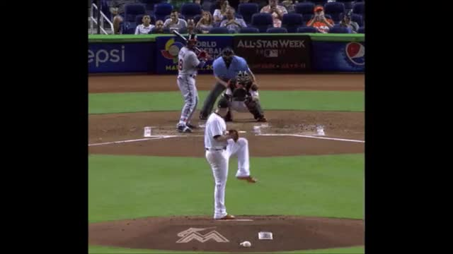 Watch and share Jose Fernandez GIFs and Baseball GIFs by Pitcher Giffer on Gfycat