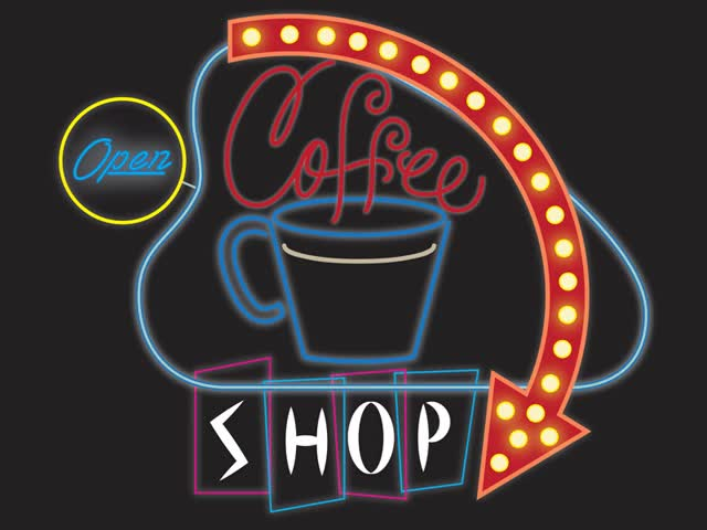 Watch and share Coffee Shop Animation 2 GIFs on Gfycat