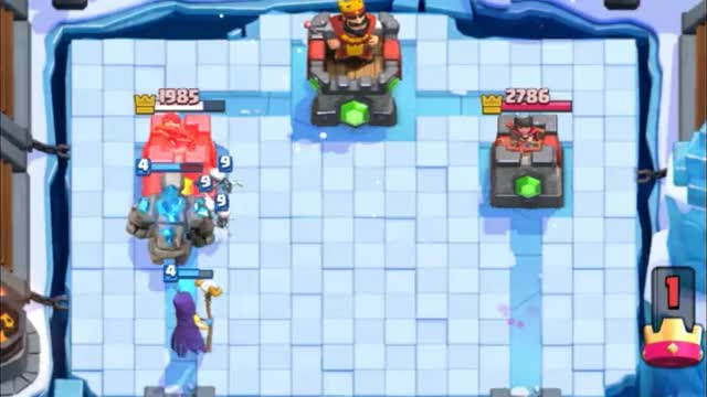 Watch and share Golem Witch Arena 8 Deck (1) GIFs by Clash Royale Kingdom on Gfycat