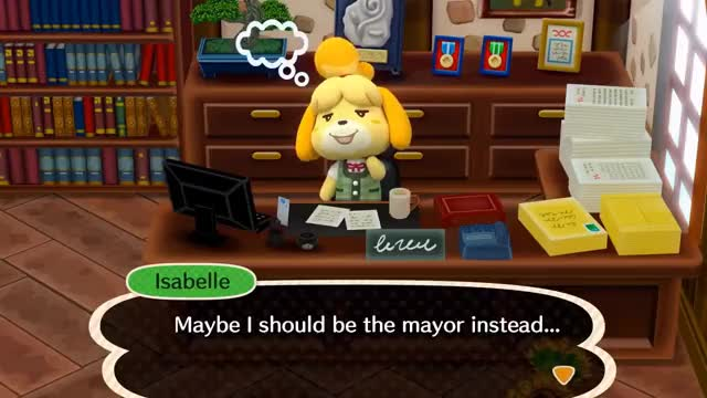 Watch and share Isabelle GIFs and Nintendo GIFs on Gfycat