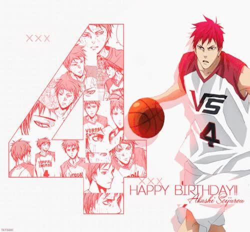 Watch and share ♥♥ Happy Birthday Akashi!!! ♥♥ 20/12 GIFs on Gfycat
