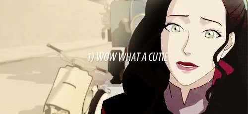 Watch the three stages of asami sato fangirling (insp.) GIF on Gfycat. Discover more asami, asami sato, legend of korra, lokedit, mine, the legend of korra, tlok GIFs on Gfycat