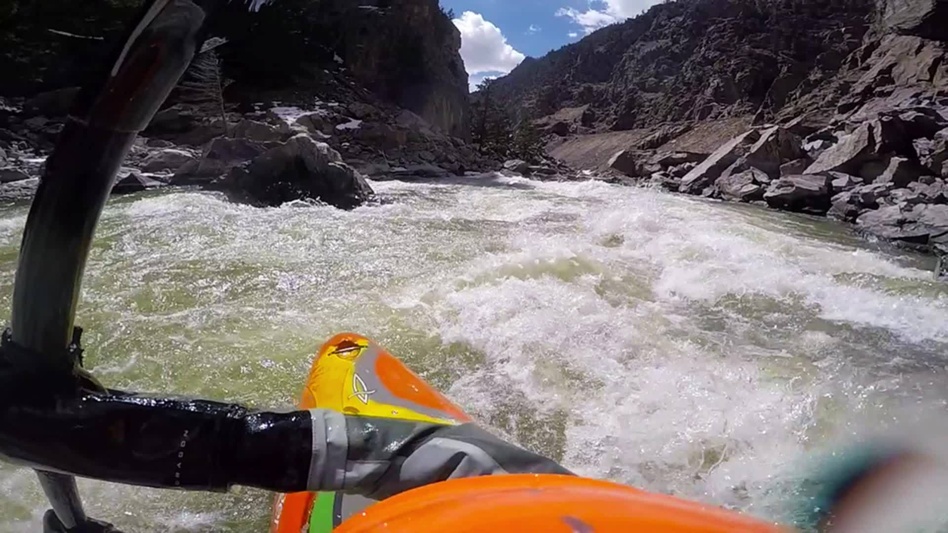 kayak, whitewater, Tunnel Gore Canyon GIFs