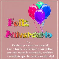 Watch and share Aniversario Tia GIFs on Gfycat