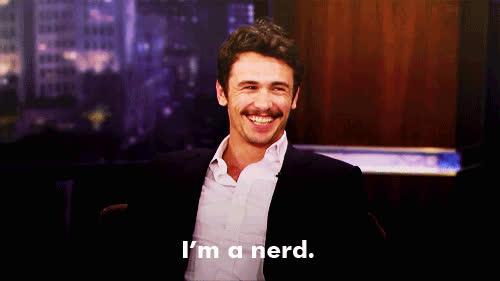 James Franco, geeky, nerd, nerdy, nerdy GIFs