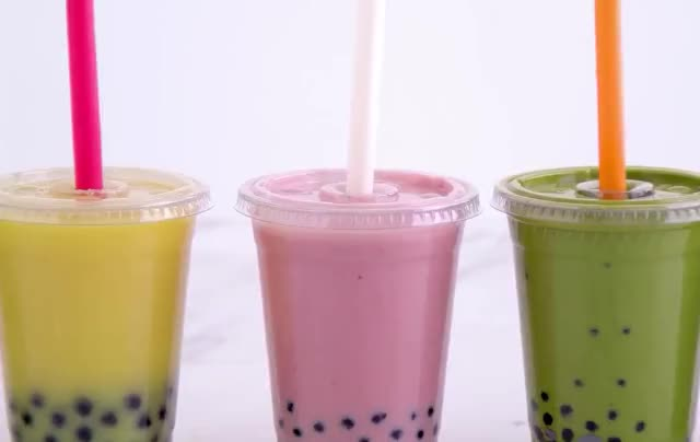 Watch and share Bubble Tea GIFs and Boba Tea GIFs by GIF Factory on Gfycat