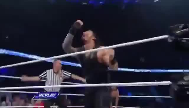 Watch Roman Reigns GIF on Gfycat. Discover more Roman reigns, Superman punch GIFs on Gfycat