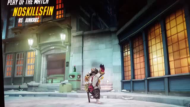 Watch and share Junkrat Caught In The Act GIFs on Gfycat