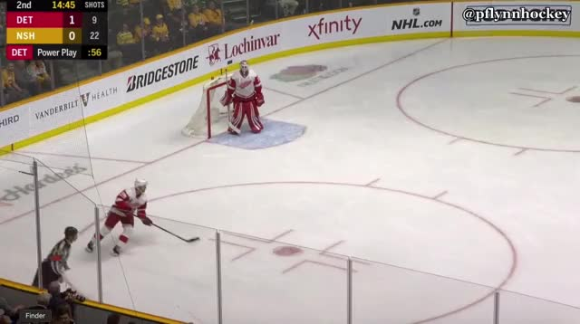 Watch and share Nashville Predators GIFs and Detroit Red Wings GIFs by peterwiim on Gfycat