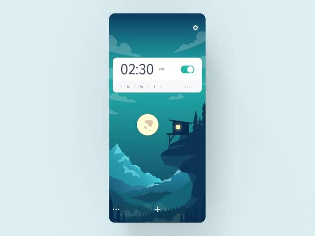 Watch and share Alarm App Animation GIFs by bazookasthlm on Gfycat