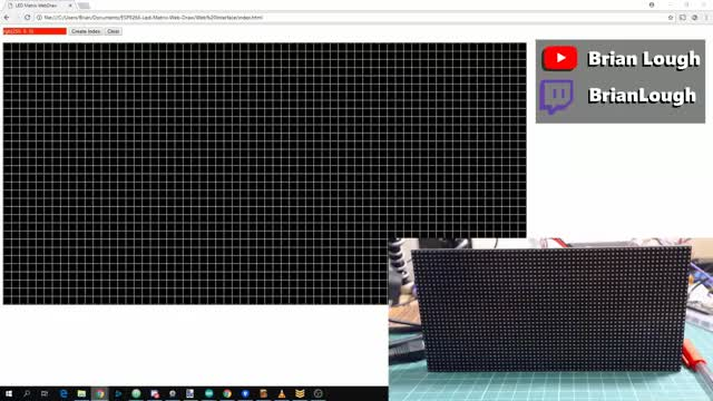 Watch LED Matrix Web Draw POC GIF by @witnessmenow on Gfycat. Discover more Arduino, esp8266 GIFs on Gfycat