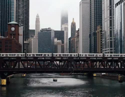 Watch and share Chicago Train // Gif // Cinemagraph GIFs on Gfycat