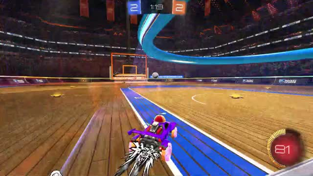 Watch and share Pass Into Ceiling Shot Goal GIFs on Gfycat