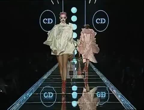 funny, model, runway, runway GIFs