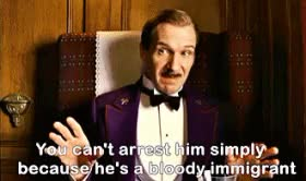 Watch grand m GIF on Gfycat. Discover more favourite male character, get to know me, m. gustave, ralph fiennes, the grand budapest hotel, wes anderson GIFs on Gfycat