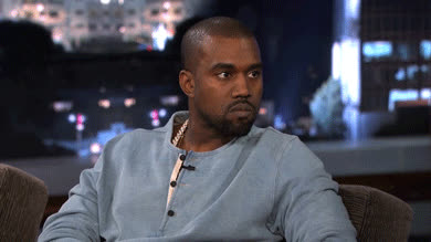 Kanye West, cranky, irritated, snarky, Snarky GIFs