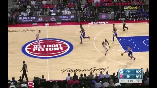 Watch and share Embiid Layup 307.mp4 GIFs on Gfycat
