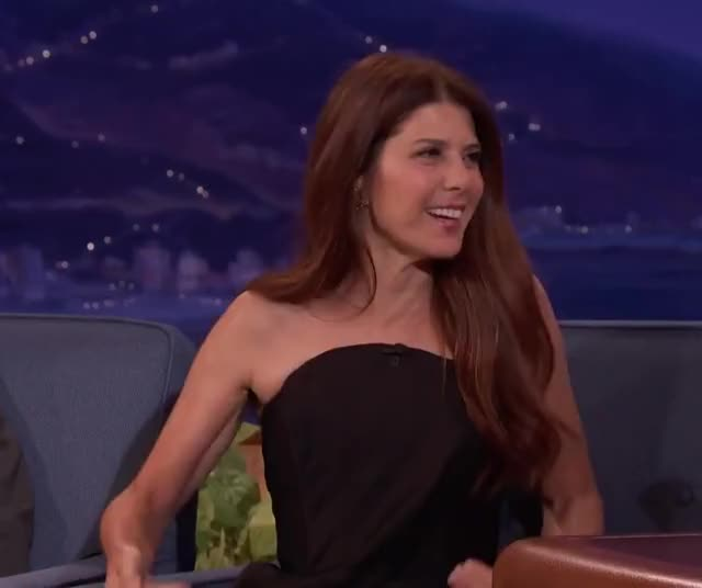 Watch and share Marisa Tomei GIFs and Conan GIFs by Reactions on Gfycat