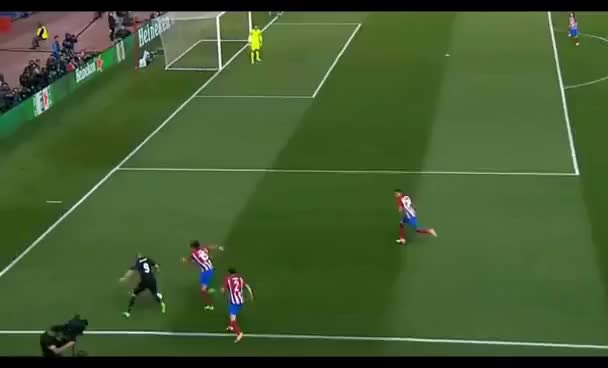 Watch Karim Benzema vs 3 Atletico defenders - Highlights GIF on Gfycat. Discover more related GIFs on Gfycat