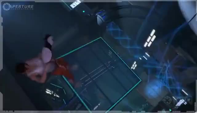 Watch and share Long Fall Boots GIFs and Portal 2 GIFs on Gfycat
