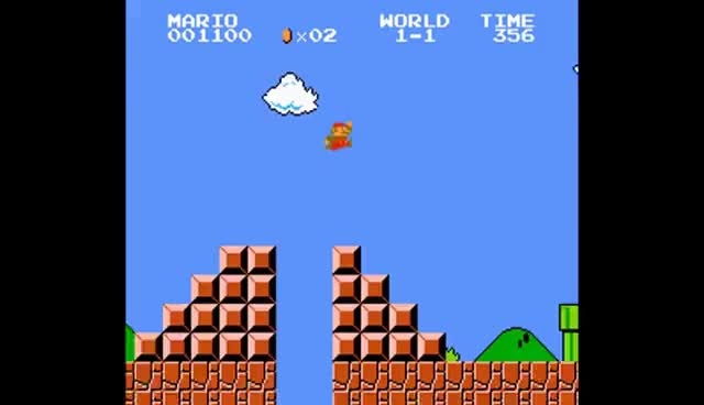 Watch and share Super Mario ALL GAME OVER SCREENS 1985-2015 (Wii U To NES) GIFs on Gfycat