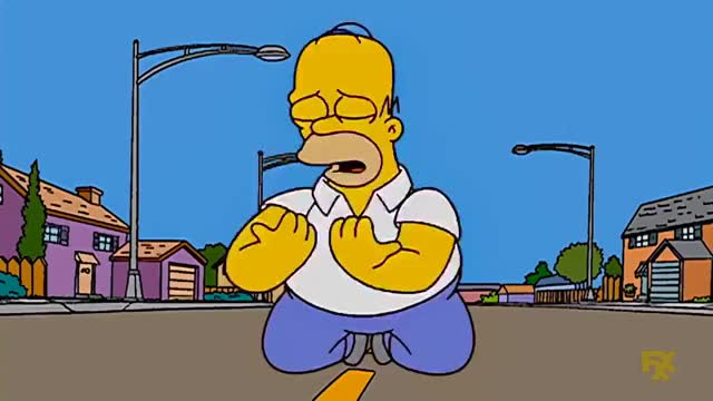 Watch and share Homero Llorando GIFs on Gfycat