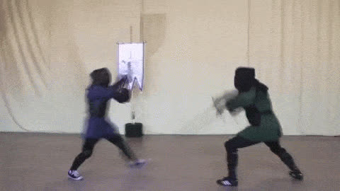 fencing, fighting, swords, fencing GIFs